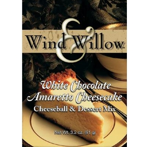 Wind And Willow White Chocolate Amaretto Cheesecake