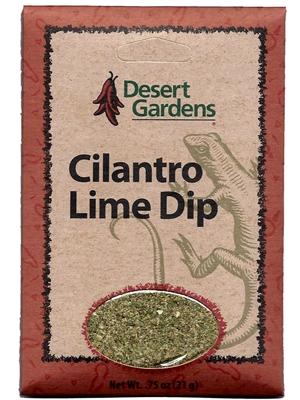 Desert Gardens Cilantro Lime Dip Mix