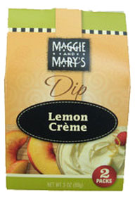 Maggie and Mary's Lemon Creme Dip Mix 2 Pack