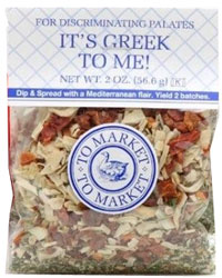To Market-To Market It's Greek To Me Dip Mix