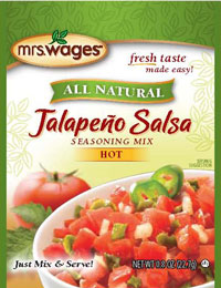 Mrs. Wages Jalapeno Salsa Seasoning Mix Hot