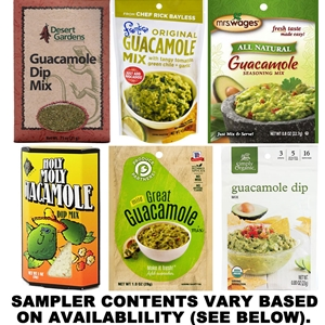 Guacamole Dip Mix Sampler