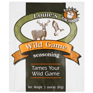 Louie's Wild Game Seasoning