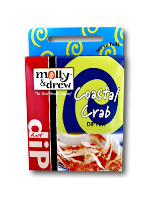 Molly & Drew Coast Crab Dip Hot Dip Mix