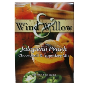 Wind & Willow Jalapeno Peach Cheeseball & Appetizer Mix