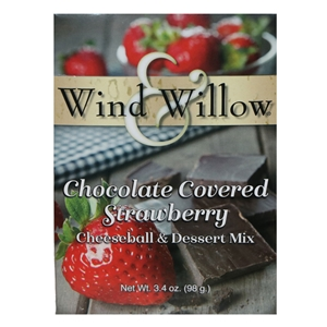 Wind & Willow Chocolate Covered Strawberry Cheeseball & Dessert Mix