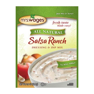 Mrs. Wages Salsa Ranch Salad Dressing & Dip Mix