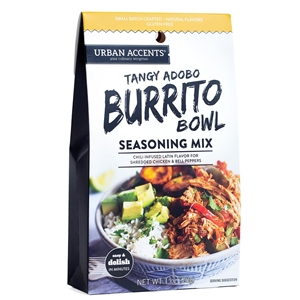 Urban Accents Tangy Adobo Burrito Bowl Seasoning Mix