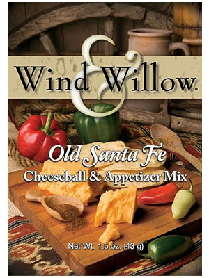 Wind & Willow Old Santa Fe Cheeseball & Appetizer Mix