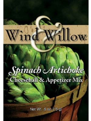 Wind & Willow Spinach Artichoke Cheeseball & Appetizer Mix