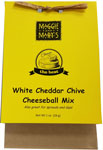 Maggie and Mary's White Cheddar & Chive Cheeseball & Dip Mix