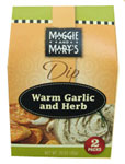 Maggie and Mary's Warm Garlic and Herb Dip Mix 2 Pack