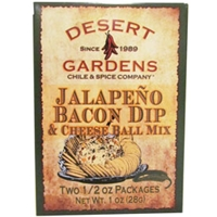 Desert Gardens Jalapeno Bacon Dip & Cheeseball Mix