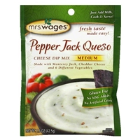 Mrs. Wages Pepper Jack Queso Cheese Dip Mix