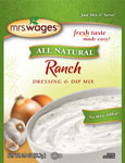 Mrs. Wages Ranch Salad Dressing & Dip Mix