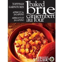 Gourmet du Village Apricot & Jalapeno Baked Brie Topping