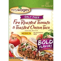 Mrs. Wages Fire Roasted Tomato & Toasted Onion Taco Seasoning Mix