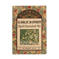 Wildwood Garlic & Onion Dip & Cheeseball Mix