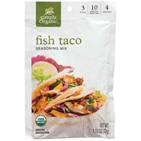Simply Organic Fish Taco Seasoning