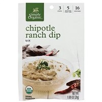 Simply Organic Chipotle Ranch Dip