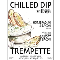 Gourmet du Village Creamy Horseradish & Bacon Dip Mix