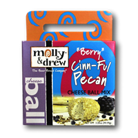"Molly & Drew ""Berry"" Cinn-Ful Pecan Cheese Ball Mix"
