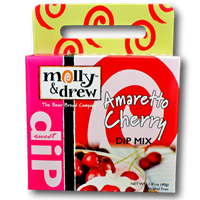 Molly & Drew Amaretto Cherry Dip Mix