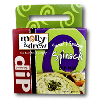 Molly & Drew Sweet & Smokey Spinach Dip Mix