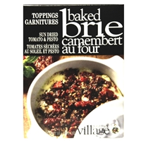 Gourmet du Village Sun Dried Tomato & Pesto Baked Brie Topping
