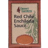 "Desert Gardens Red Chile Enchilada Sauce Mix - ""Best By"" Sept 2018"
