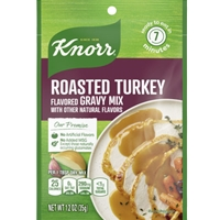 Knorr Roasted Turkey Flavored Gravy Mix