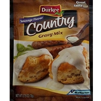 Durkee Country Gravy Mix With Sausage