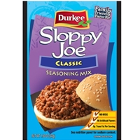 Durkee Sloppy Joe Seasoning Mix