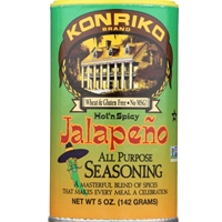 Konriko Brand Hot'n Spicy Jalapeno All Purpose Seasoning - 5 oz