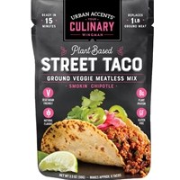 Urban Accents Plant Based Street Taco Meatless Mix