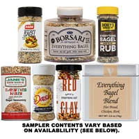 Everything Bagel Seasoning Sampler