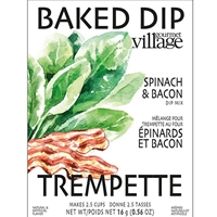 Gourmet du Village Spinach & Bacon Baked Dip Mix