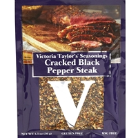Victoria Taylor's Cracked Black Pepper Steak Seasoning