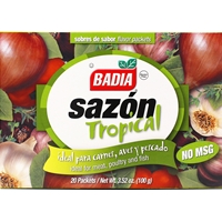 Badia Sazon Tropical Seasoning Flavor Packets