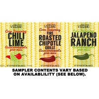 Gourmet du Village Corn Seasoning Sampler