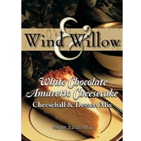 Wind & Willow White Chocolate Amaretto Cheesecake Cheeseball Mix