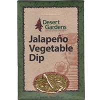 Desert Gardens Jalapeno Vegetable Dip Mix
